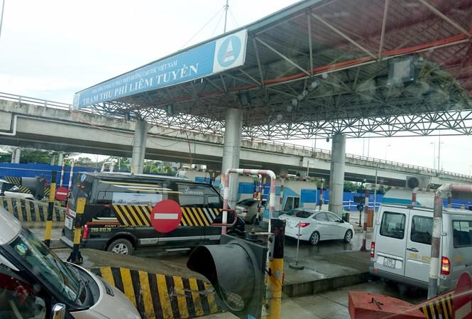 Trạm thu phí trên tuyến cao tốc Cầu Giẽ - Ninh Bình của VEC quản lý.