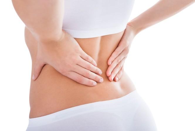 Đau do ung thư thận thường xuất phát ở một bên sườn, vùng lưng hông. Cơn đau có thể kéo dài và dao động từ âm ỉ đến dữ dội. Ảnh minh hoạ: Internet