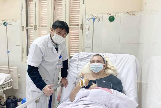 Nạn nhân đã hồi phục kỳ diệu. Ảnh: Bệnh viện cung cấp
