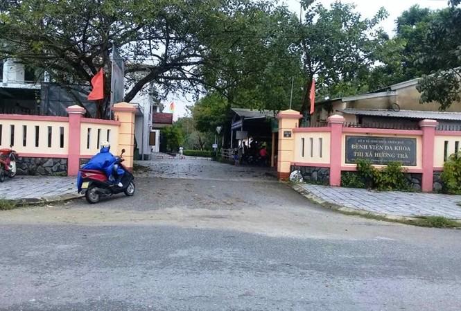 Bệnh viện đa khoa Hương Trà, thuộc TTYT thị xã Hương Trà