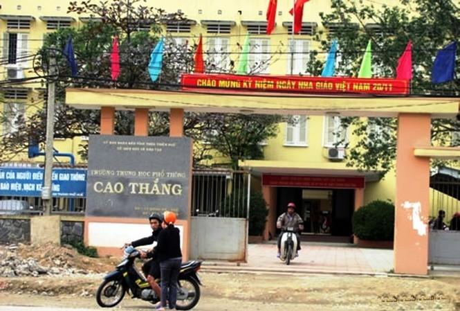 Trường THPT Cao Thắng (TP Huế)