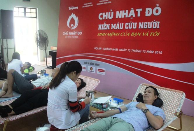Sự kiện Chủ nhật đỏ - hiến máu tình nguyện tại Quảng Nam thu hút đông đảo bạn trẻ tham gia