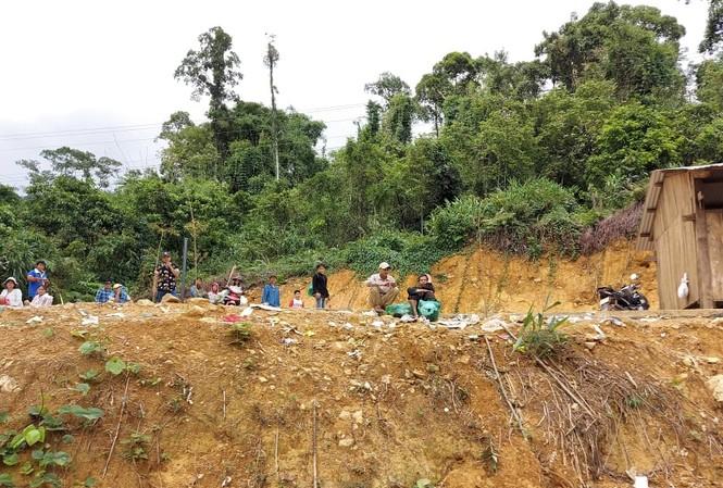 Huyện Nam Trà My nơi vừa xảy ra hàng loạt vụ sạt lở núi.ảnh H. Văn