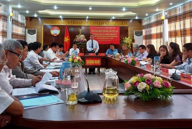 Ủy ban Mặt trận Tổ quốc Việt Nam tỉnh Quảng Nam tổ chức Hội nghị hiệp thương lần thứ 2. Ảnh H. Văn