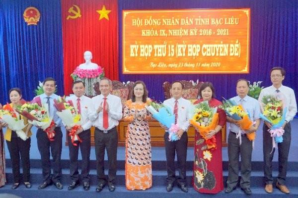 Ông Phạm Văn Thiều làm Chủ tịch UBND tỉnh Bạc Liêu