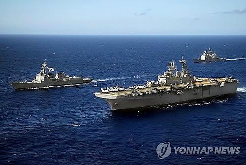 Mỹ, Hàn sẽ bắt đầu tập trận chung vào ngày mai. Ảnh: Yonhap