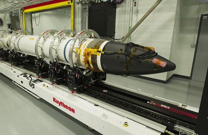 Tên lửa SM-3. Ảnh: Sputnik