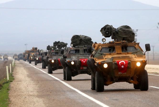 Mỹ từ chối hỗ trợ quân sự cho các chiến dịch của Thổ Nhĩ Kỳ tại biên giới Syria