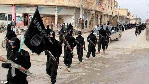 Lực lượng Nhà nước Hồi giáo (IS). Ảnh: AP