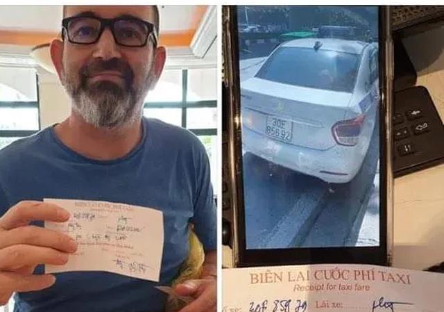 Mạng xã hội chia sẻ thông tin một du khách nước ngoài đi taxi bị chặt chém gần 1 triệu đồng cho quãng đường 5km.