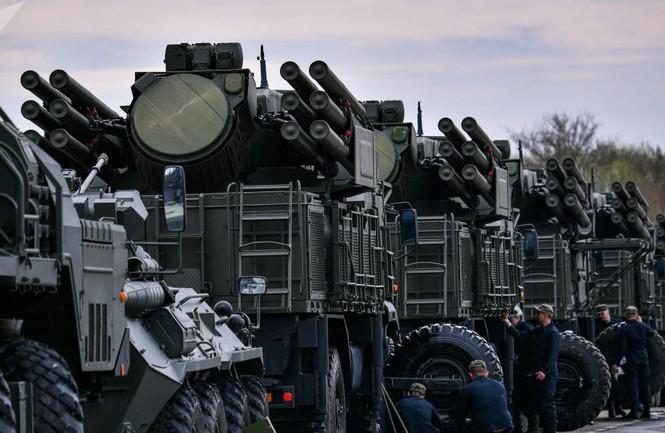 Hệ thống Pantsir-S của Nga. Ảnh: Sputnik