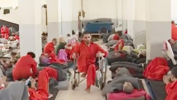 Một nơi giam giữ các tù nhân IS