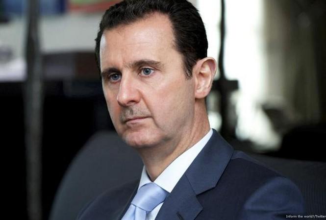 Tổng thống Syria Bashar al-Assad. Ảnh: Twitter