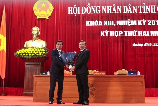 Thủ tướng Chính phủ đã phê chuẩn kết quả bầu chức vụ Chủ tịch UBND tỉnh Quảng Ninh nhiệm kỳ 2016-2021 đối với ông Nguyễn Tường Văn.