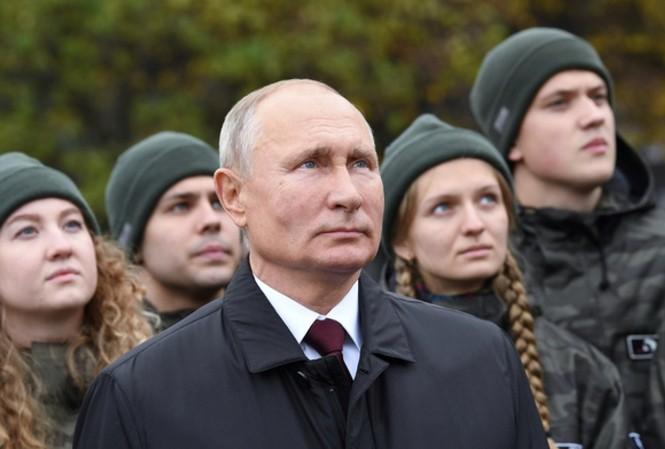 Tổng thống Nga Vladimir Putin tham dự một sự kiện tại Moscow ngày 4/11. Ảnh: Reuters