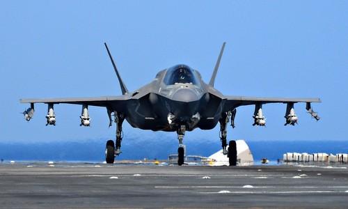 Ảnh minh họa: Tiêm kích F-35 của Mỹ