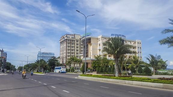 Khách sạn Bình Dương sẽ được di dời đầu tiên. Ảnh: Tr.Định