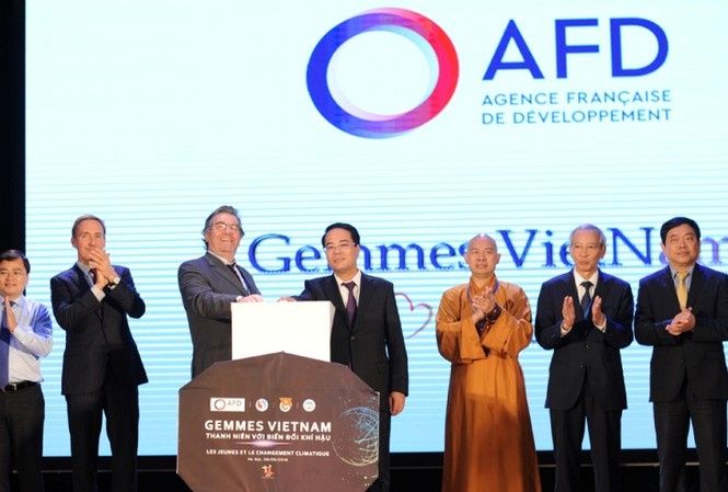 AFD và Bộ Tài Nguyên và Môi trường tuyên bố triển khai chương trình GEMMES, một chương trình nghiên cứu kinh tế về biến đổi khí hậu.