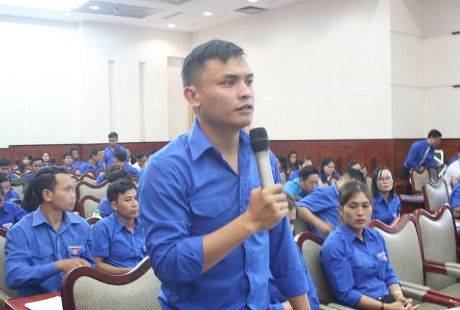 Các bạn trẻ Đắk Nông chia sẻ kinh nghiệm làm giàu tại Hội nghị kết nối ngân hàng, chuyên gia nông nghiệp với thanh niên làm kinh tế giỏi và tổng kết hoạt động nhận ủy thác cho vay vốn năm 2019.