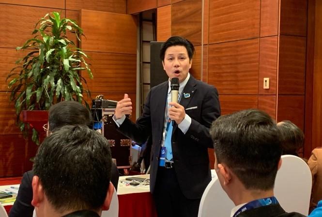 Anh Nguyễn Đức Tùng, Giám đốc Trung tâm Hỗ trợ thanh niên khởi nghiệp