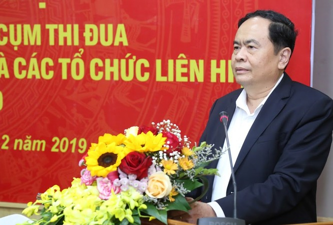 hủ tịch Ủy ban Trung ương MTTQ Việt Nam Trần Thanh Mẫn đánh giá cao Đoàn thanh niên đã luôn nhạy bén, dám nghĩ dám làm với nhiều phong trào thi đua được thể hiện cả bề nổi và chiều sâu.