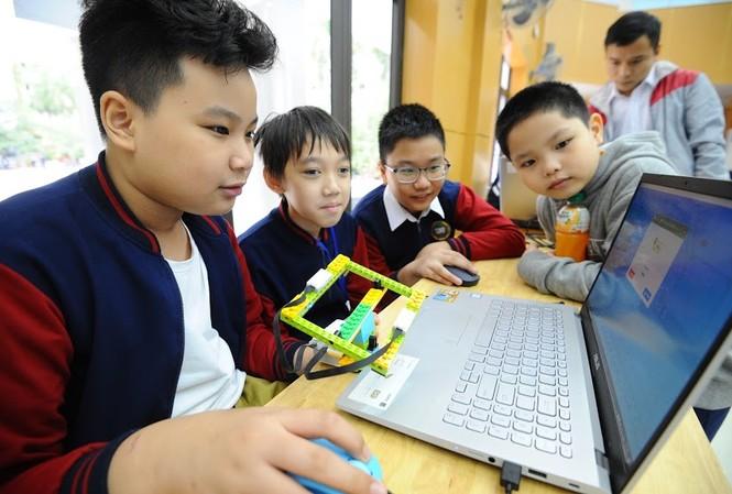 Các thí sinh tham gia vòng Sơ khảo Hội thi Tin học trẻ toàn quốc lần thứ XXVI – 2020 khu vực miền Bắc