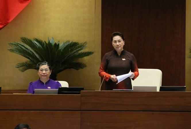 Chủ tịch Quốc hội Nguyễn Thị Kim Ngân. Ảnh Như Ý