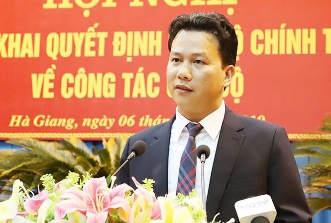 Bí thư Tỉnh ủy Hà Giang Đặng Quốc Khánh
