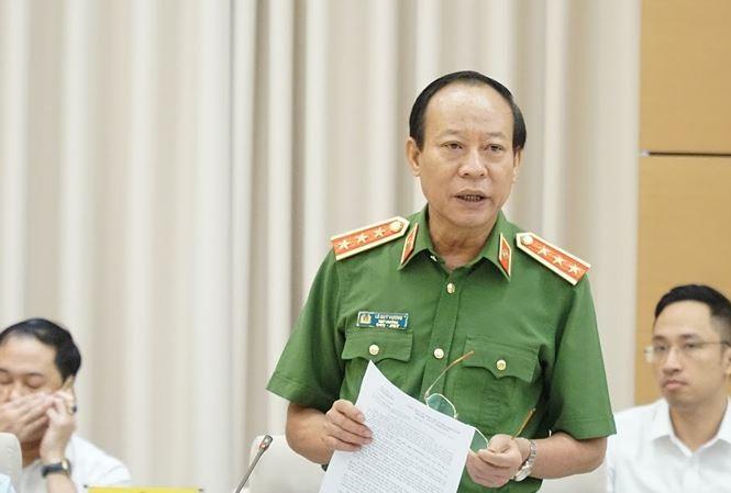 Thượng tướng Lê Qúy Vương, Thứ trưởng Bộ Công an