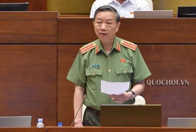 Đại tướng Tô Lâm, Bộ trưởng Công an