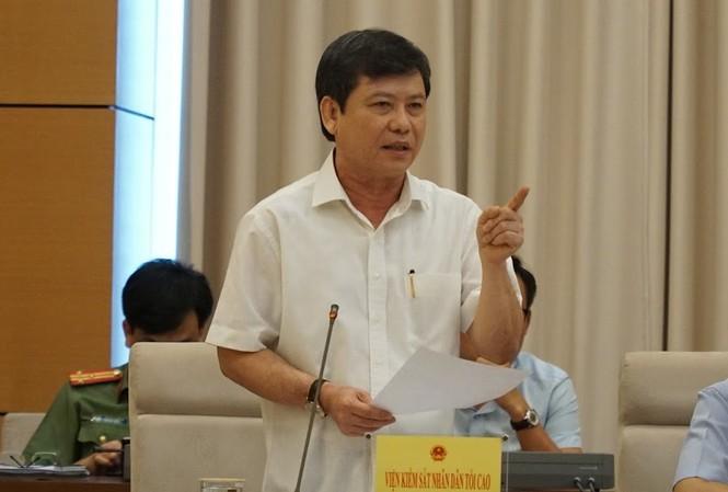 Viện trưởng VKSND Tối cao Lê Minh Trí
