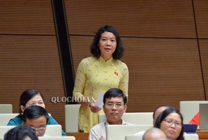 Uỷ viên Thường trực Uỷ ban Tư pháp Mai Thị Phương Hoa