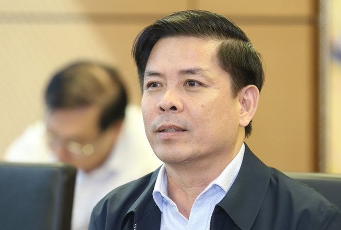 Bộ trưởng GTVT Nguyễn Văn Thể. Ảnh Như Ý