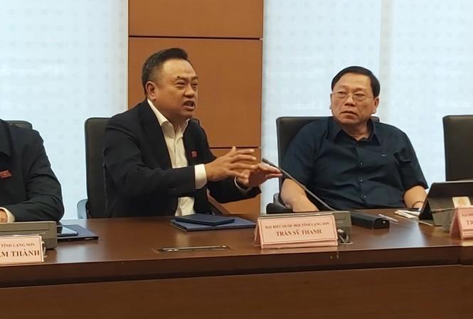 ĐBQH, Chủ tịch HĐQT Tập đoàn dầu khí Việt Nam (PVN) Trần Sỹ Thanh tại phiên thảo luận tổ