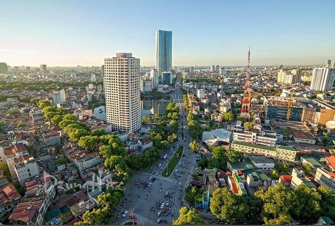 """""""Đất vàng"""" Hà Nội cao nhất 188 triệu đồng/m2 sau khi tăng 15%"""