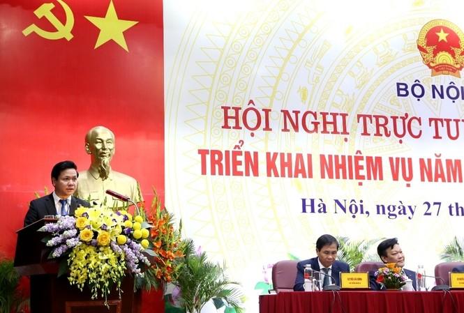 Ông Phan Trung Tuấn - Phó Vụ trưởng Vụ Chính quyền địa phương
