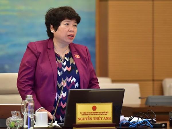 Chủ nhiệm Ủy ban Về các vấn đề xã hội của Quốc hội phát biểu tại phiên họp Uỷ ban Thường vụ