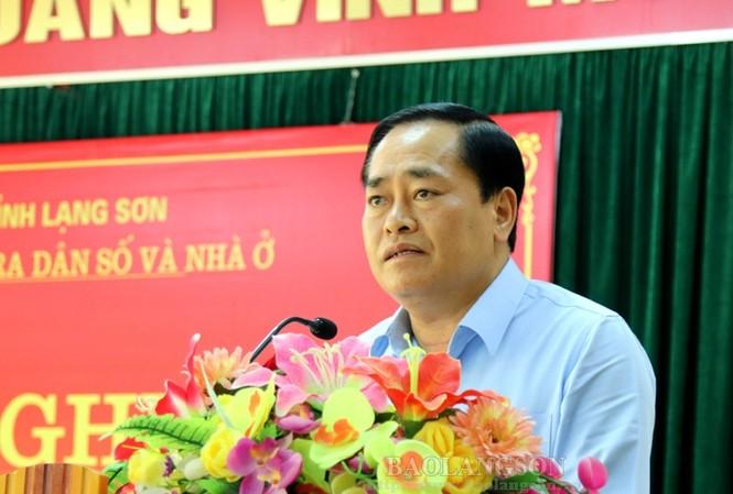Ông Hồ Tiến Thiệu được bầu giữ chức Phó Bí thư Tỉnh ủy, Chủ tịch UBND tỉnh Lạng Sơn.