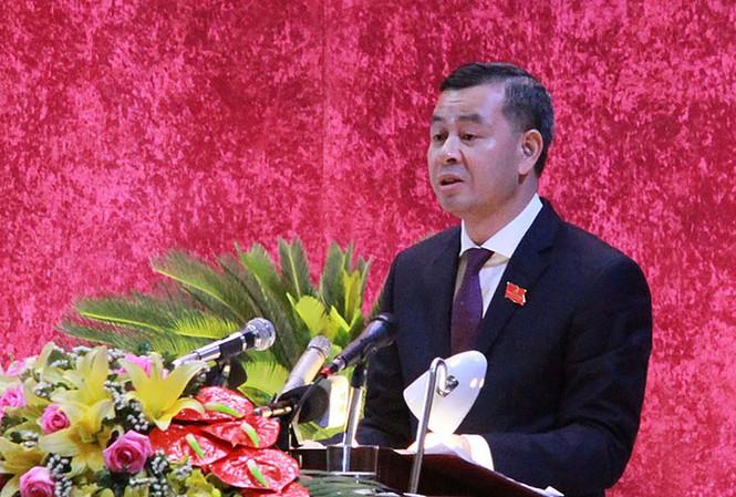 Phó bí thư Tỉnh ủy Hòa Bình Ngô Văn Tuấn đã được bầu làm Bí thư Tỉnh ủy Hòa Bình - Ảnh: Báo Hòa Bình