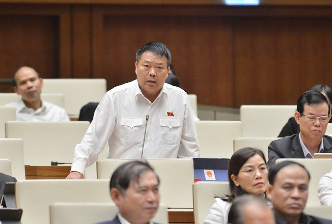 Thiếu tướng Sùng Thìn Cò, đại biểu Quốc hội đoàn Hà Giang