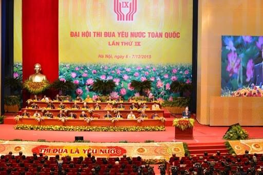 2.300 đại biểu tham dự Đại hội Thi đua yêu nước toàn quốc