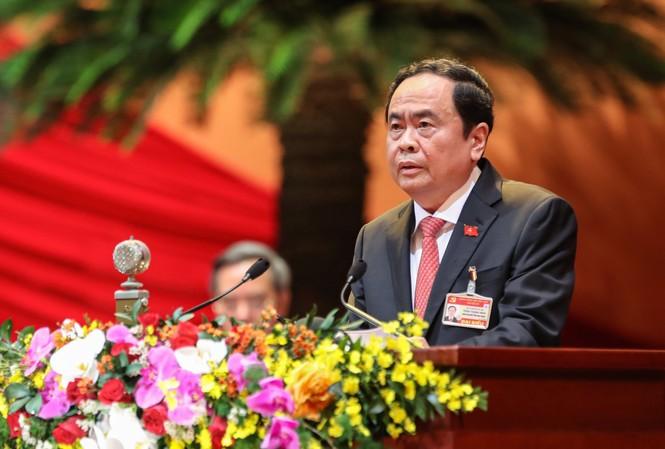 Chủ tịch Ủy ban Trung ương MTTQ Việt Nam Trần Thanh Mẫn