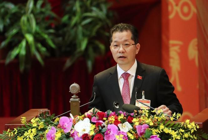 Bí thư thành ủy Đà Nẵng Nguyễn Văn Quảng. ẢNH NHƯ Ý