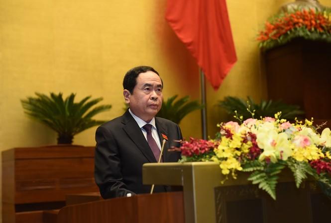 Chủ tịch Uỷ ban TƯ MTTQ Việt Nam Trần Thanh Mẫn