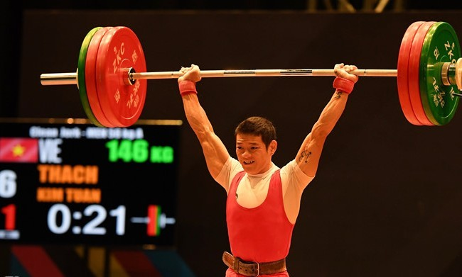 'Thót tim' xem Thạch Kim Tuấn giành HCV SEA Games 29