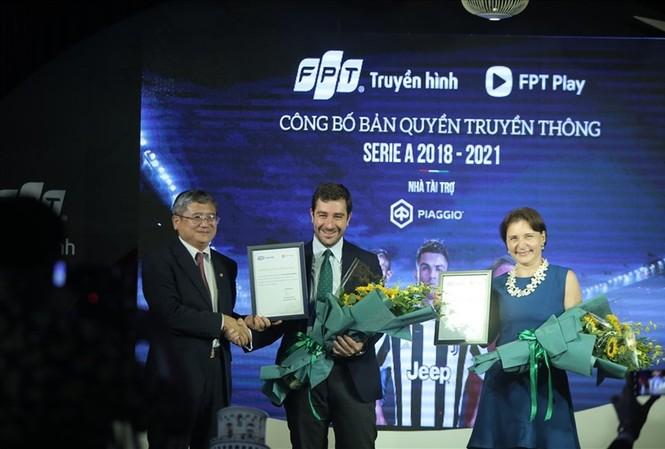 Truyền hình FPT mang Ronaldo và Serie A đến với khán giả Việt Nam