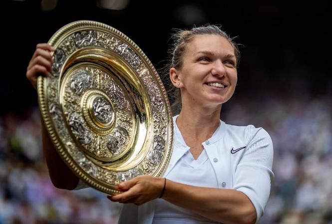 Simona Halep lần đầu vô địch Wimbledon