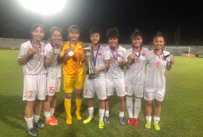 Vô địch Đông Nam Á, tuyển nữ Việt Nam nhận thưởng nóng 1,3 tỷ đồng