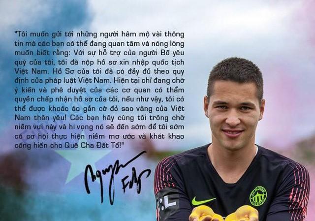 Filip Nguyễn sắp khoác áo đội tuyển Việt Nam?