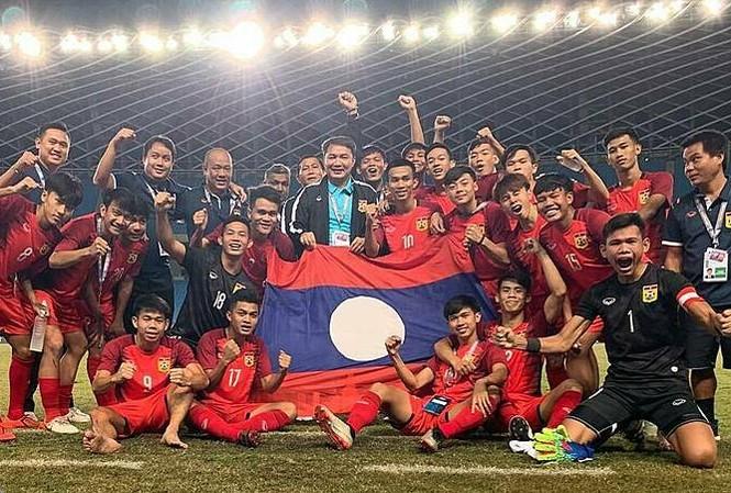 Lào vượt qua vòng loại U19 châu Á 2020